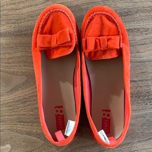 Orange Crazy 8 Flats size 5